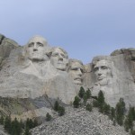 Mt Rushmore Roosevelt, Washington, Jefferson & Lincoln