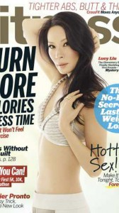 Lucy Liu on Fitness Magazine cover