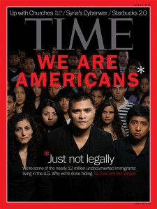 Time Magazine cover of Jose Antonio Vargas