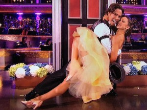 Apolo Ohno on Dancing with the Stars
