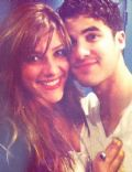 Darren Criss with Mia Sweir