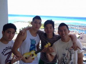 Jeremy Ln with Ryan Higa & Kev Jumba