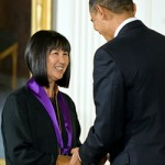 Maya Lin Receives National Medal of Arts in 2009