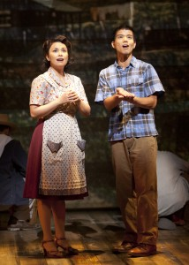 Allegiance - A New American Musical at The Old Globe.  Photo by Henry DiRocco.