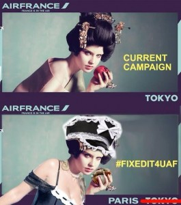 Air France ad campaign