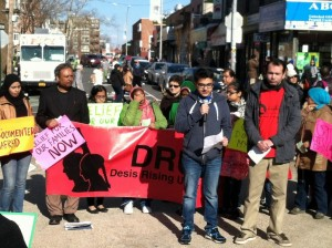 DRUM Rally against deportation