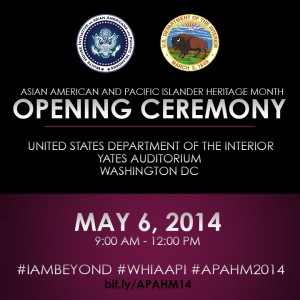 Asian American Pacific American Heritage Month opening ceremony