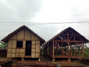 Homes in Tacloban