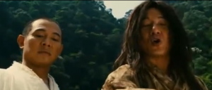 Forbidden Kingdom with Jet Li & Jackie Chan