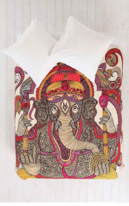 Urban Outfitter Lord Ganesha duvet cover