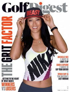 Michelle Wie Cover Photo Golf Digest
