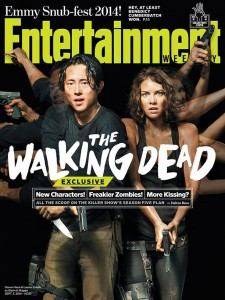 Steven Yeun Cover Photo on Entertainment Weekly