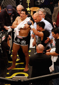 Cung Le victory over Frank Shamrock in 2008