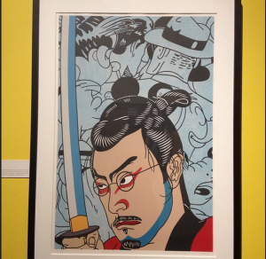 Roger Shimomura Self Portrait, Photo by Sarah Stierch