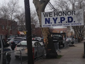 Wake for Officer Liu