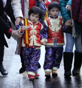 Scene from New York's Lunar New Year parade