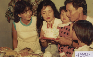 Chinh & Family 1992