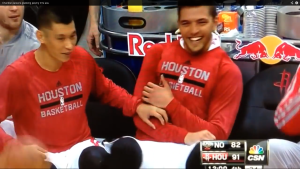 Jeremy Lin and Parsons Chandler