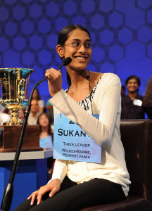 Spelling Bee Champ 2011 Sukanya Roy