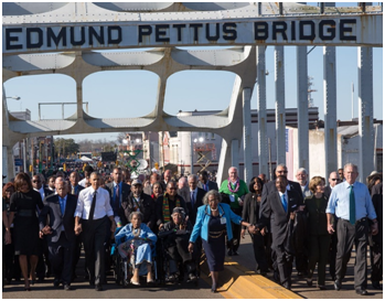 Selma 50th anniversary Commemoration
