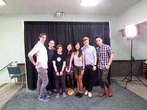 Fans with The Try Guys from Buzz Feed
