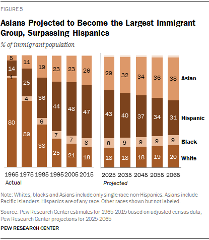 2065 Immigration Projections