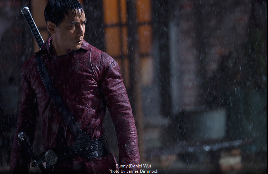 Daniel Wu stars in into the Badlands