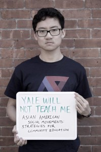 Yale Asian American Studies campaign