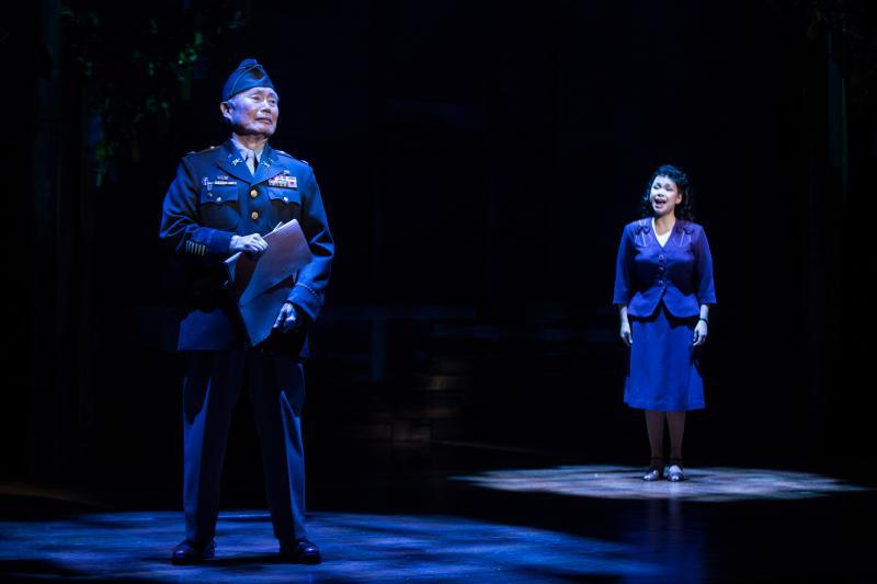 Allegiance Photo by Matthew Murphy