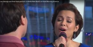Lea Salonga performs A Whole New World with Brad Kane and Alan Menken