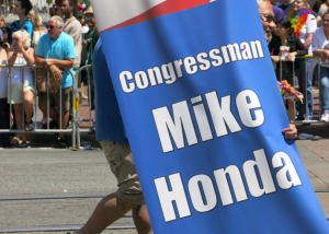Mike Honda campaign sign