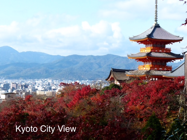 City view of Kyoto