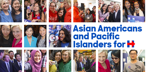 AAPIs for Hillary Clinton