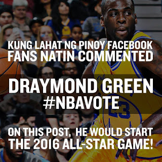 Draymond Green dubvote in Tagalog