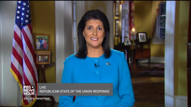 Nikki Haley gives GOP response to the State of the Union