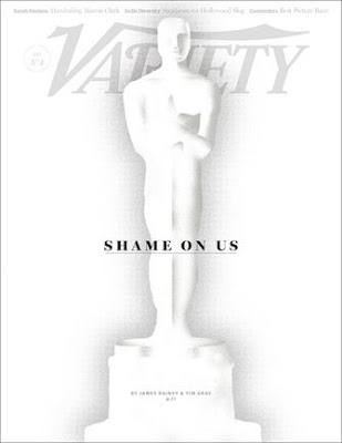 Variety Shame on Us Headline