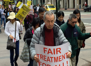 Peter Liang rally in San Francisco