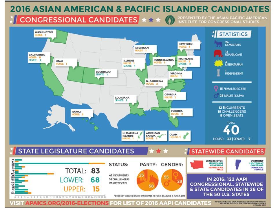 Asian American Pacific Islander Candidates