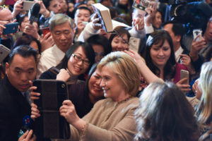Hillary Clinton courts the AAPI Vote