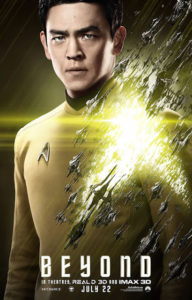 John Cho is featured on Star Trek Beyond poster