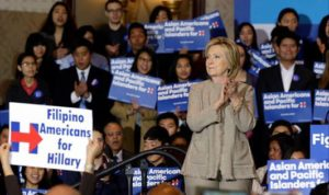 Filipino Americans for Hillary have Hillary Clinton's back