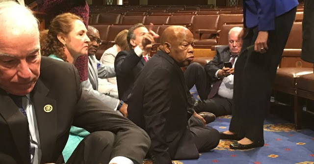Congressional Sit in
