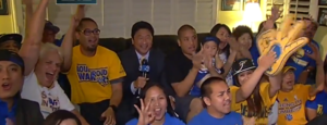 NBA FINALS: Asian fans of the Golden State Warriors showing their colors