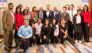 Bernie Sanders with AAPI leaders