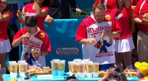 2016 Nathan Hot Dog Eating Contest