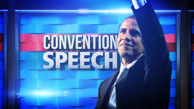 Barack Obama convention speech
