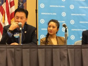 Fresh Off The Boat star, Constance Wu at the APPI Caucus panel.