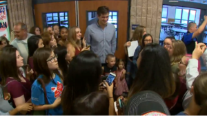 Nathan Adrian homecoming