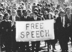 Free Speech Movement at UC Berkeley
