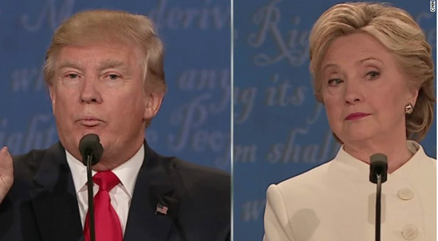 Trump Clinton Third debate